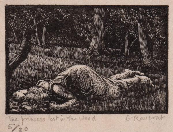 RAVERAT Gwen S.W.E. (1885-1957) - 'The Princess Lost No.