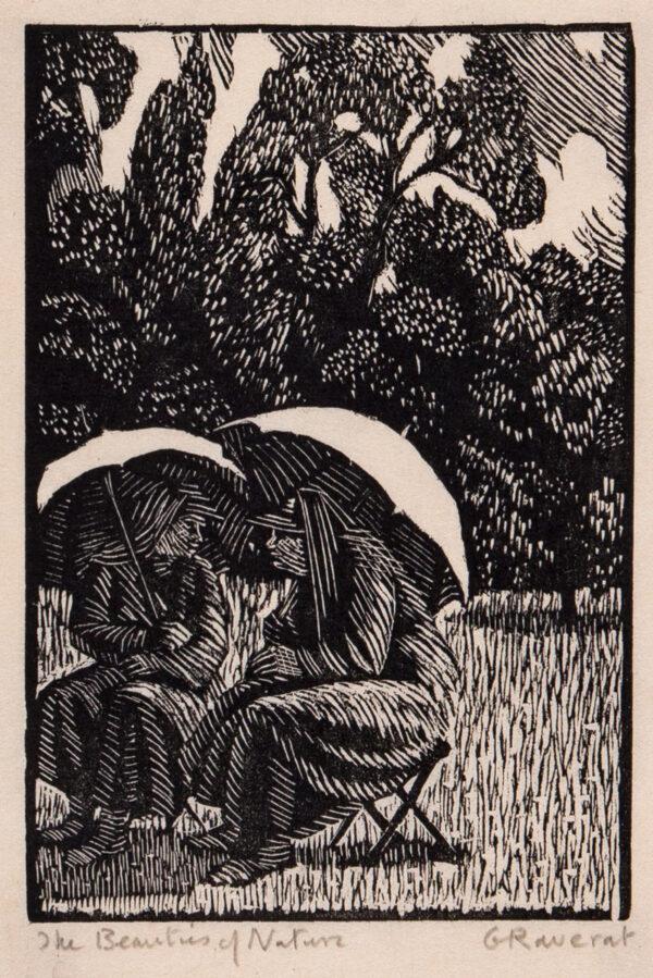 RAVERAT Gwen S.W.E. (1885-1957) - 'The Beauties of Nature' (SN.