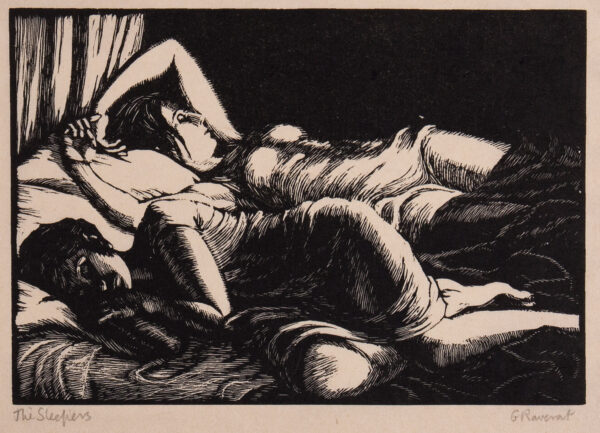 RAVERAT Gwen S.W.E. (1885-1957) - 'The Sleepers' (SN.