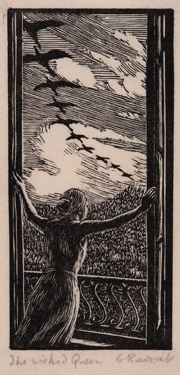 RAVERAT Gwen S.W.E. (1885-1957) - 'The Wicked Queen' (SN.