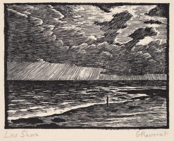 RAVERAT Gwen S.W.E. (1885-1957) - Low Shore (SN145).