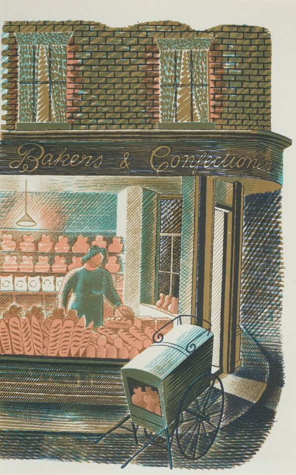 RAVILIOUS Eric (1903-1942) - 'Baker and Confectioner': p.