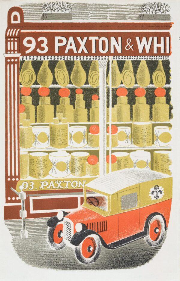 RAVILIOUS Eric (1903-1942) - 'Cheesemonger'; p.