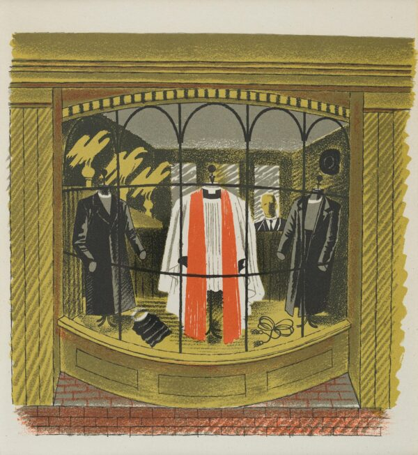 RAVILIOUS Eric (1903-1942) - 'Clerical Outfitter': p.