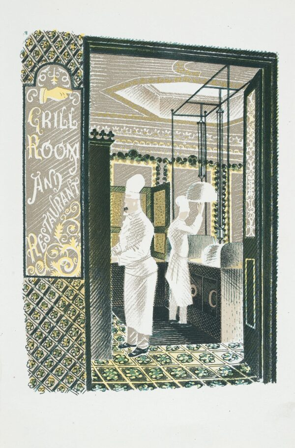 RAVILIOUS Eric (1903-1942) - 'Restaurant and Grill Room': p.