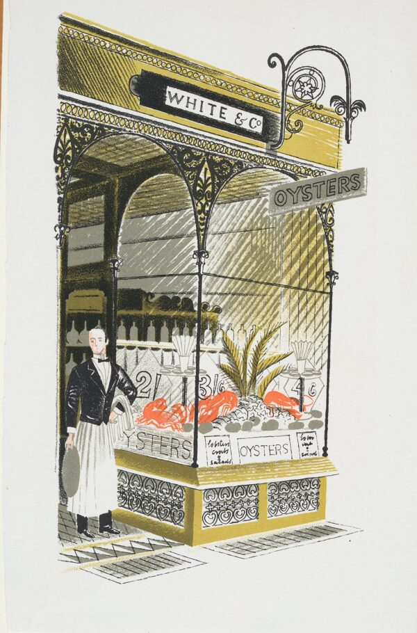 RAVILIOUS Eric (1903-1942) - 'Oyster Bar': p.