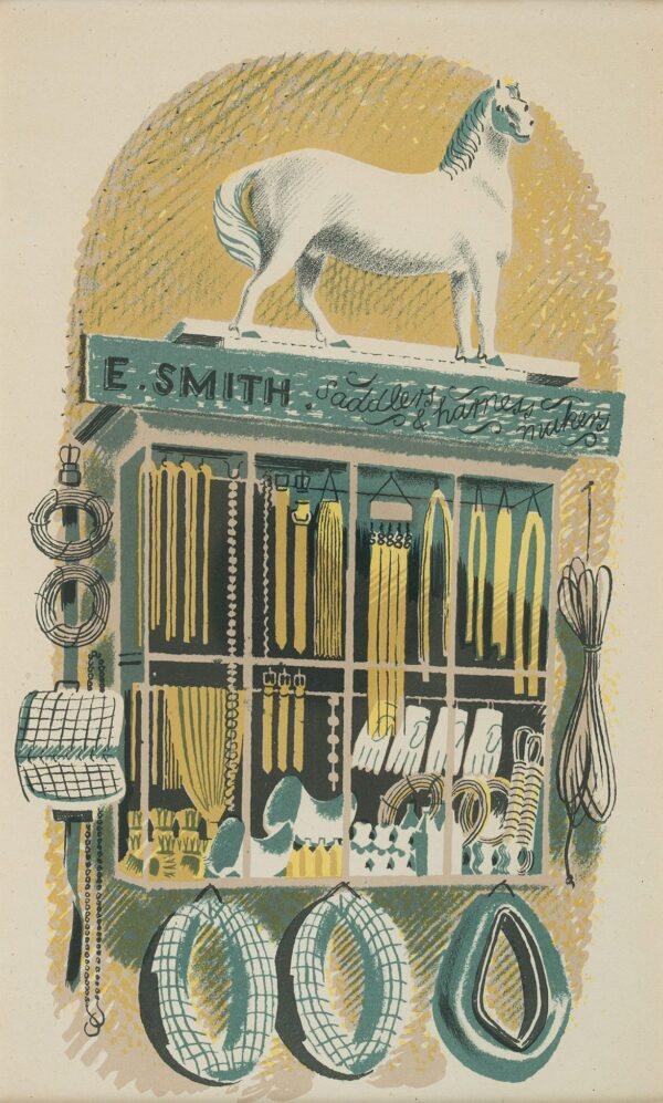 RAVILIOUS Eric (1903-1942) - 'Saddler and Harness Maker'; p.