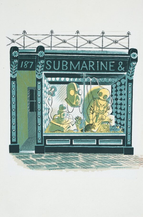 RAVILIOUS Eric (1903-1942) - 'Submarine Engineer': p.
