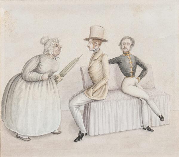 READ Blackwood M (fl. 1830s) - An Incident.