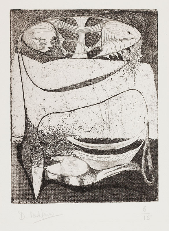 REDFERN David L.G. (b.1947) - Plant forms.