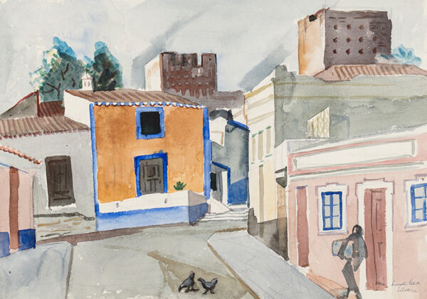 REEVE Russell R.E. (1895-1970) - 'Silves', Algarve.