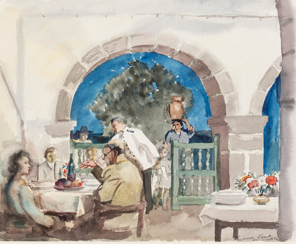 REEVE Russell R.E. (1895-1970) - 'Viana do Castello', Norte, Portugal.