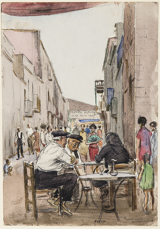 REEVE Russell (1895-1970) - Portugal.