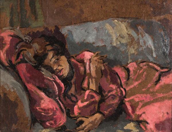 REITLINGER Gerald (1900-1978) - A Camden Town sofa.