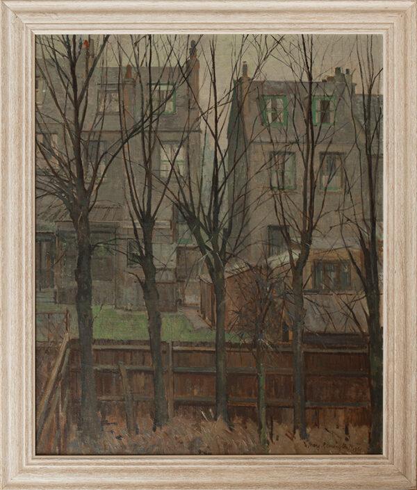 REMINGTON Mary N.E.A.C. (1910-2013) - 'London Garden'.