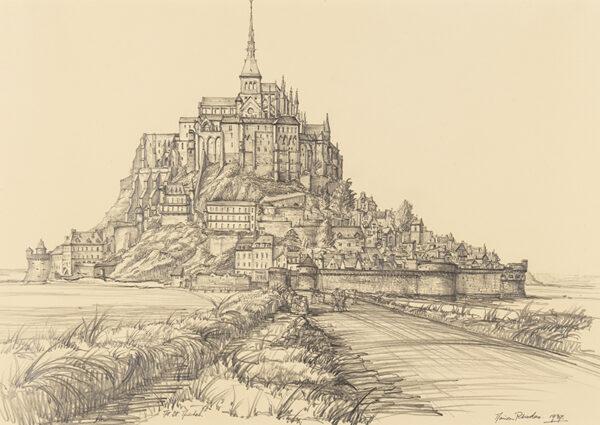 RHODES Marion (b. 1907) - 'Mt.