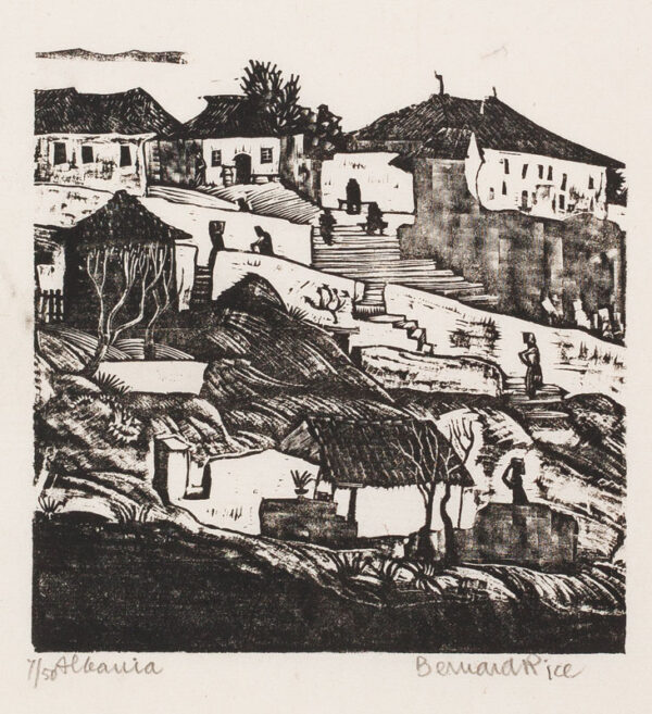 RICE Bernard (1900-1998) - 'Albania'.