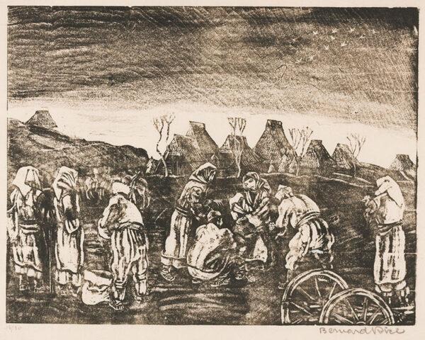 RICE Bernard (1900-1998) - Balkan peasants.