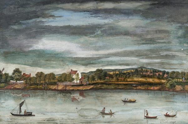 RICH Edmund (fl.1743) - River scene.