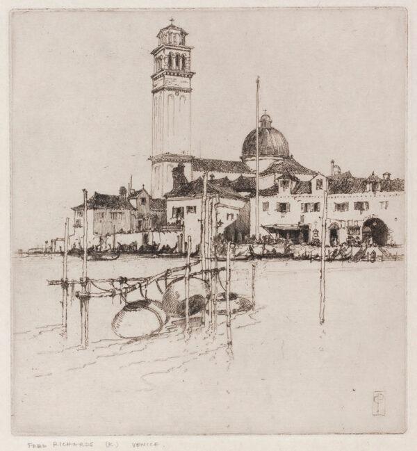 RICHARDS Frederick R.E. (1887-1932) - 'Venice'.