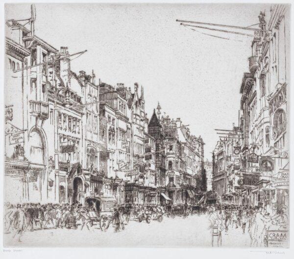 RICHARDS Frederick (1878-1932) - 'Bond Street'.
