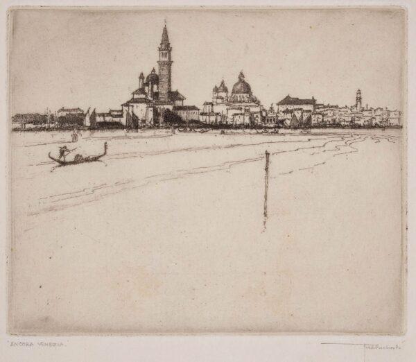 RICHARDS Frederick (1878-1932) - 'Ancora Venezia'.