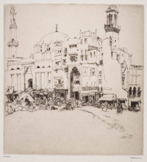 RICHARDS Frederick (1878-1932) - 'In Cairo'.