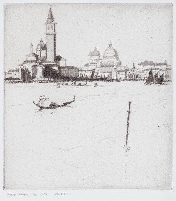 RICHARDS Frederick (1878-1932) - 'Sempre Venezia'.