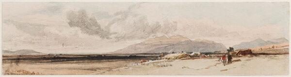 RICHARDSON Thomas Miles Jnr R.W.S. (1813-1890) - Ballachulish.