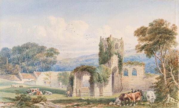 RICHARDSON William R (fl.1842-1880) - Mount Grace Priory.