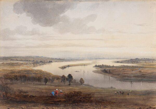 RICHARDSON Thomas Miles Snr (1784-1848) - The Tyne at Gateshead.