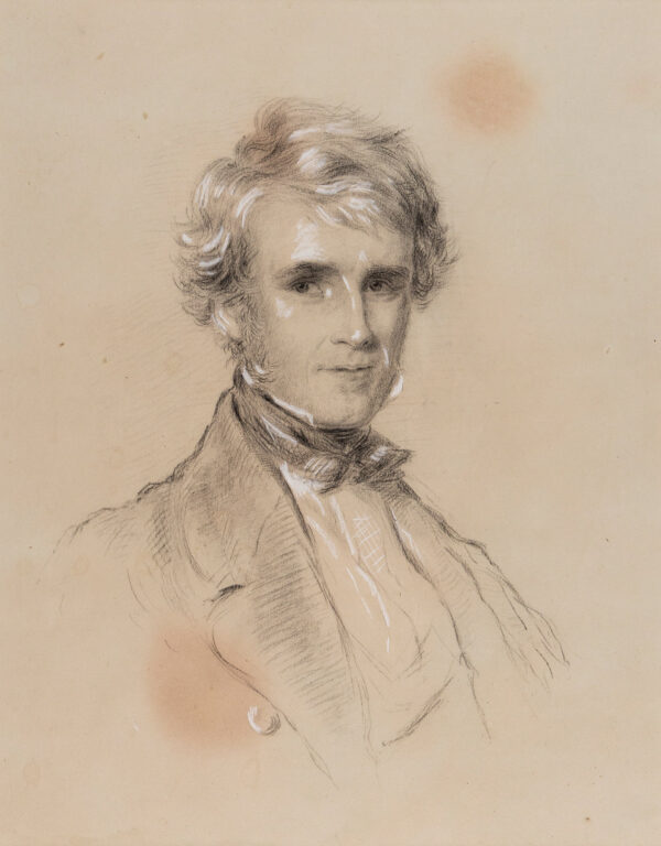RICHMOND George (1809-1896) - William Wood, Lord Hatherley (1801-1881) Gladstone's 1st Lord Chancellor (1868-1872).