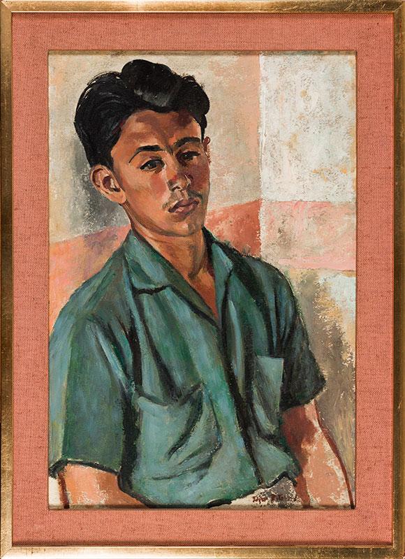 RITCHARD Edgar (1908-1984) - 'Portugal Boy'.