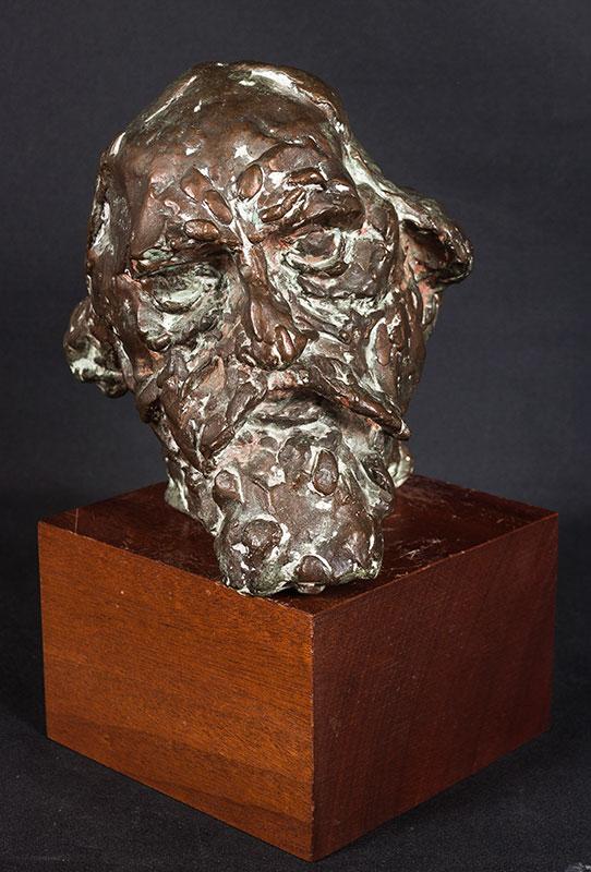 ROBERTS-JONES Ivor R.A. (1913-1996) - 'Head of Augustus John'.