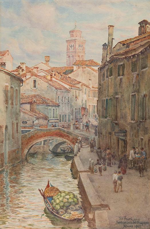 ROOKE Thomas Matthews (1842-1942) - Venice.