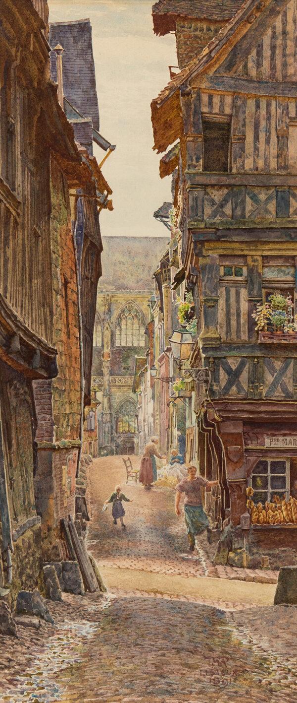 ROOKE Thomas Mathew R.W.S. (1842-1942) - 'Lisieux'.