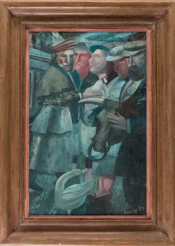 ROONEY Mick R.A. (b.1944) - Strange Market.