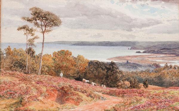 ROSCOE S. G. William (1852-1922) - The Welsh Coast.
