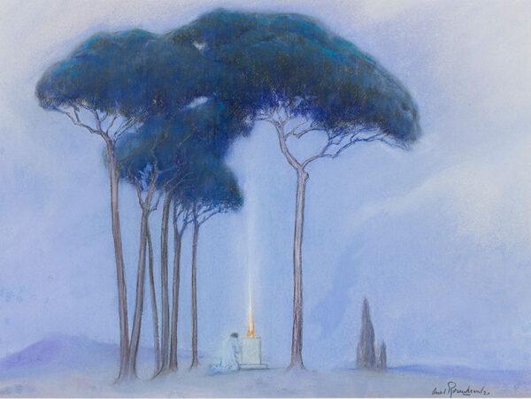 ROSENCRANTZ Arild (1870-1964) - The Offering.