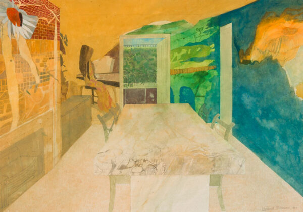 ROSOMAN Leonard R.A. (1913-2012) - 'The Painted Room'.