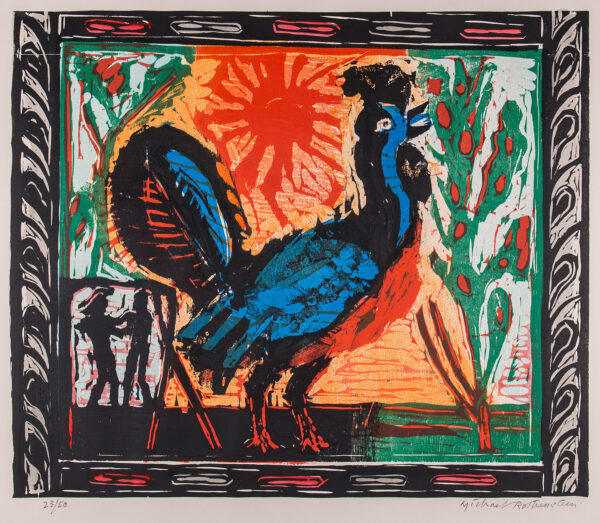 ROTHENSTEIN Michael R. A. (1908-1993) - The Cock.