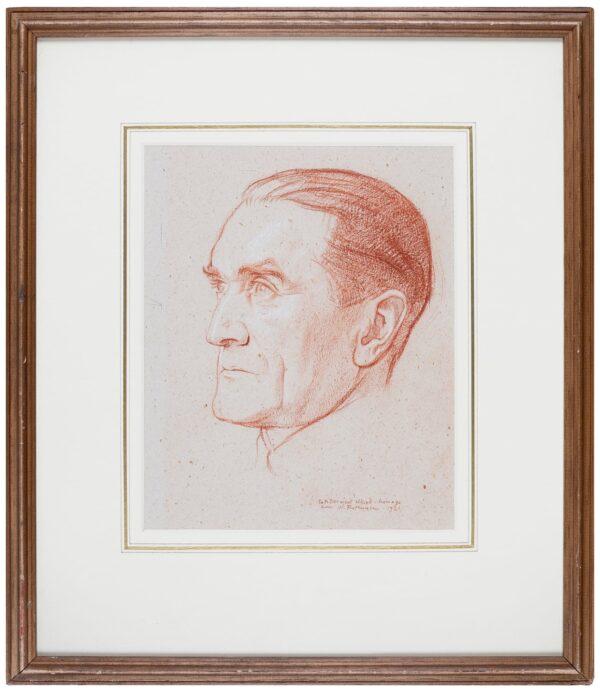 ROTHENSTEIN Sir William N.E.A.C. R.P. (1872-1945) - 'Francis Derwent Wood, R.