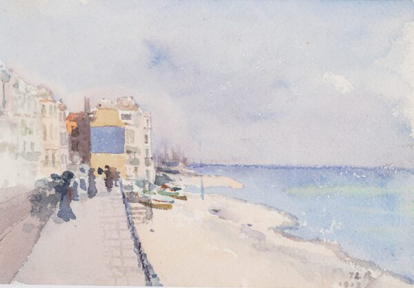 ROUSSEL Theodore (1847-1926) - Hastings: the Front.