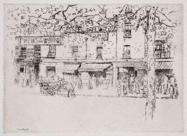 ROUSSEL Theodore (1847-1926) - Chelsea street.