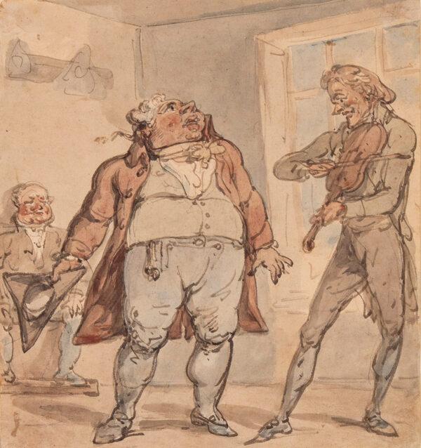 ROWLANDSON Thomas (1756-1827) - Making Music.