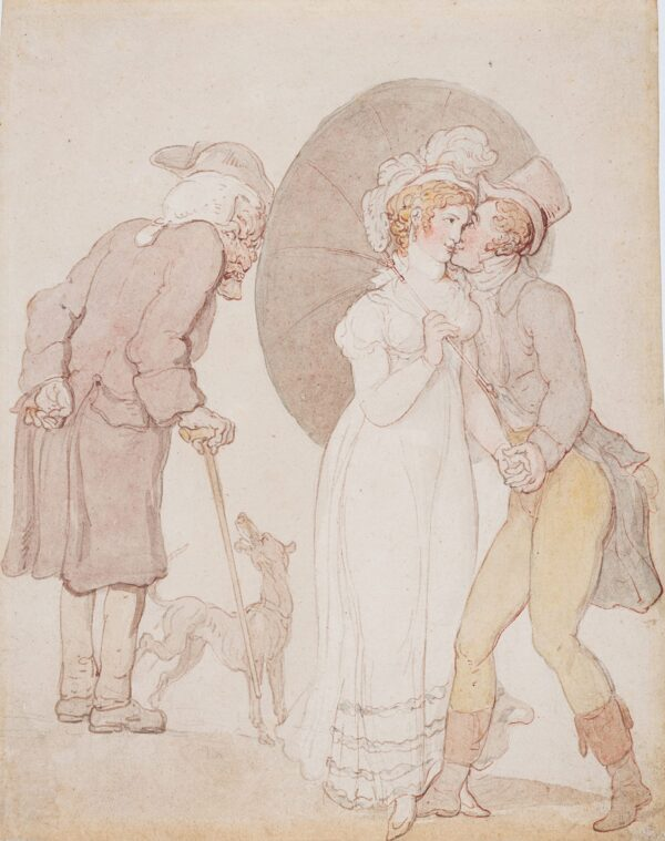 ROWLANDSON Thomas (1756-1827) - Youth and Age – Envy.