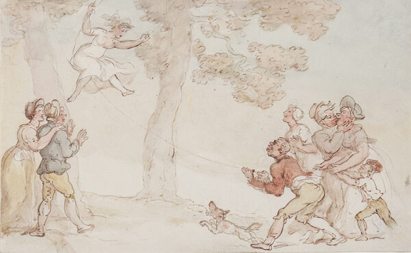 ROWLANDSON Thomas (1756-1827) - The Swing.