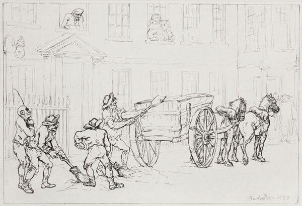 ROWLANDSON Thomas (1756-1827) - 'Dust-Ho'.