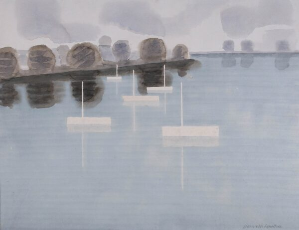 ROWNTREE Kenneth (1915-1997) - 'Southampton Water'.