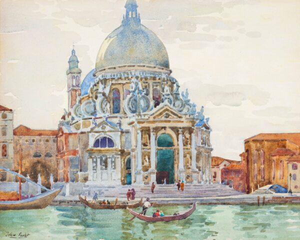 RUSTAT Tobias (Twentieth Century) - The Salute, Venice.